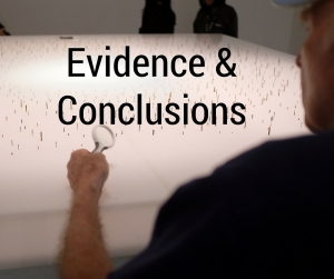 Evidence & Conclusions
