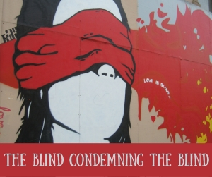 The Blind Condeming The Blind FB